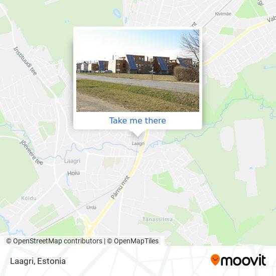 Laagri map