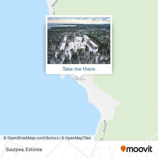 Suurpea map