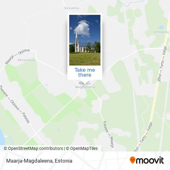 Maarja-Magdaleena map