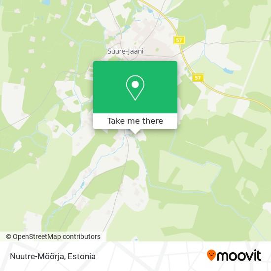 Nuutre-Mõõrja map