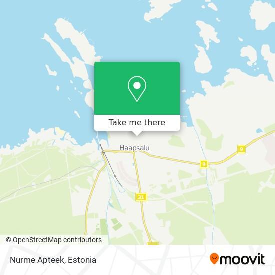 Nurme Apteek map