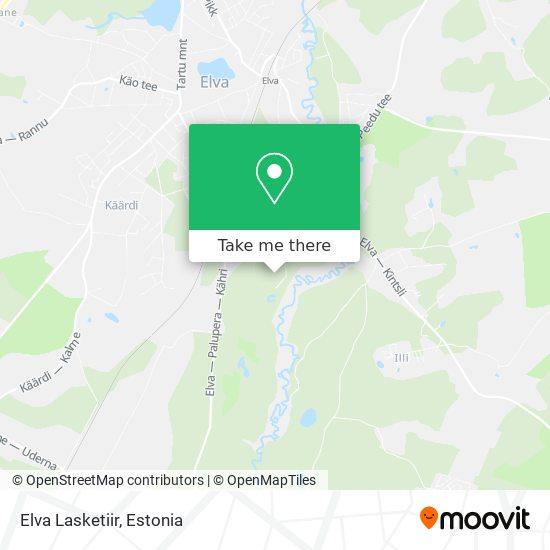 Elva Lasketiir map