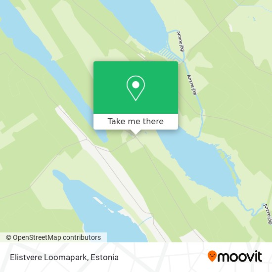 Elistvere Loomapark map
