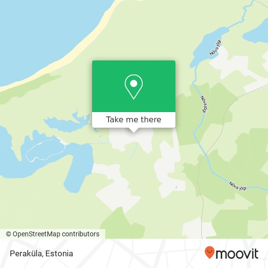 Peraküla map