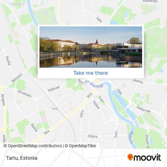 Tartu map