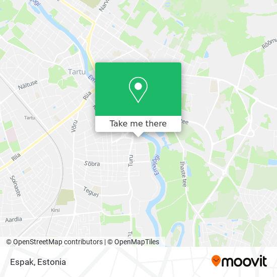 Espak map