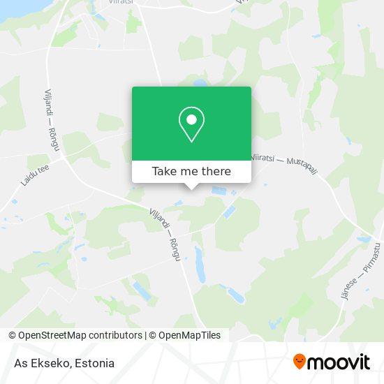 As Ekseko map