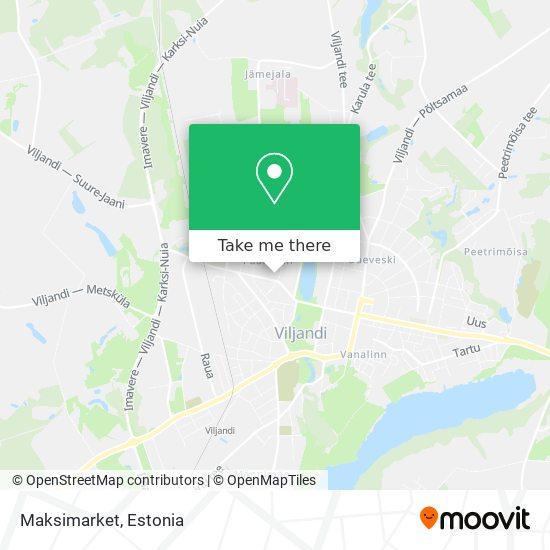 Maksimarket map