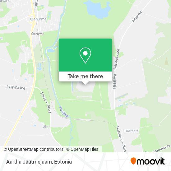 Aardla Jäätmejaam map