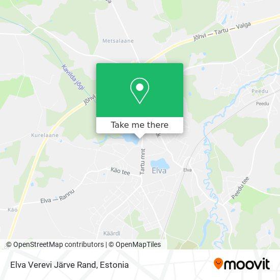 Elva Verevi Järve Rand map