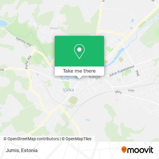 Jumis map