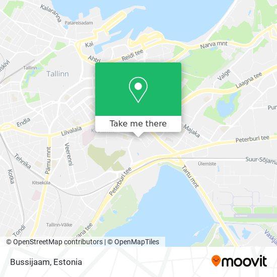 Autobussijaam map