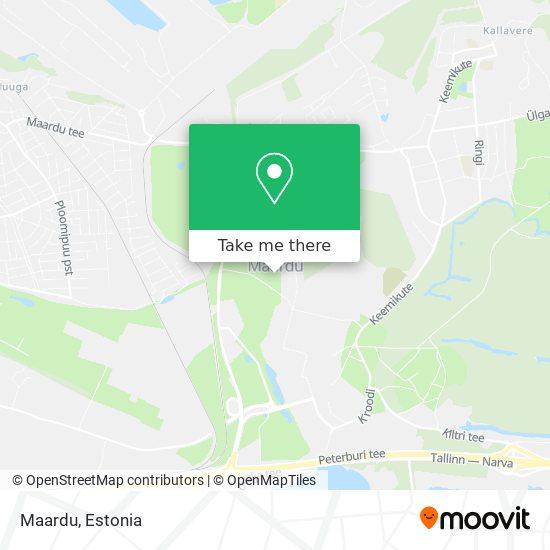 Maardu map