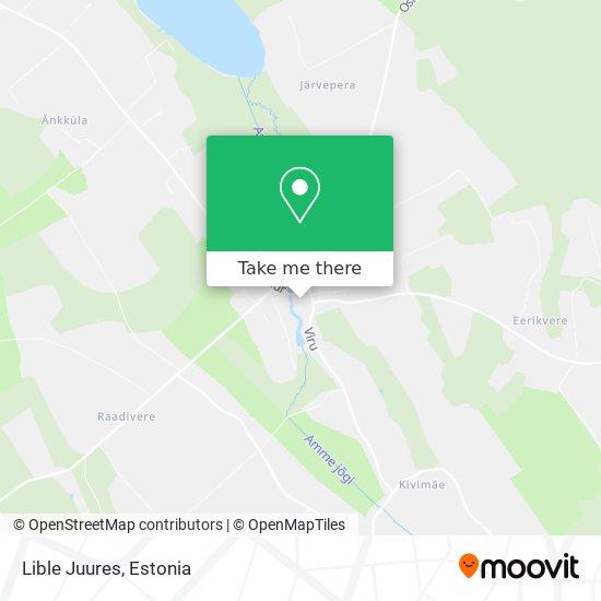 Lible Juures map