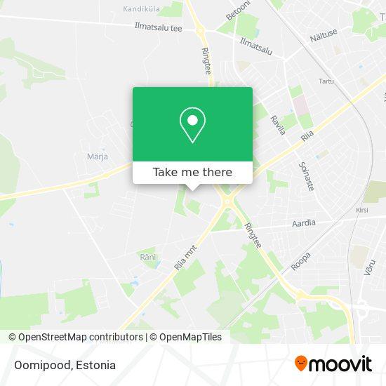 Oomipood map