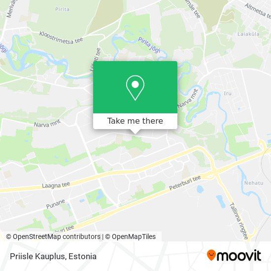 Priisle Kauplus map