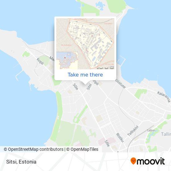 Sitsi map
