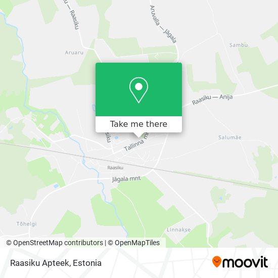 Raasiku Apteek map