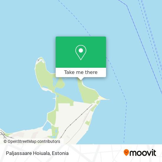 Paljassaare Hoiuala map