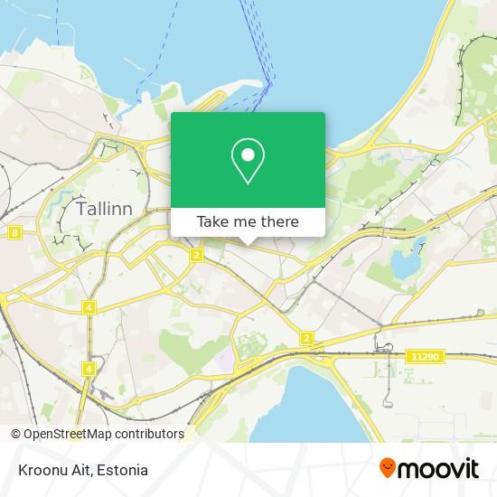 Kroonu Ait map