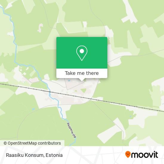 Raasiku Konsum map
