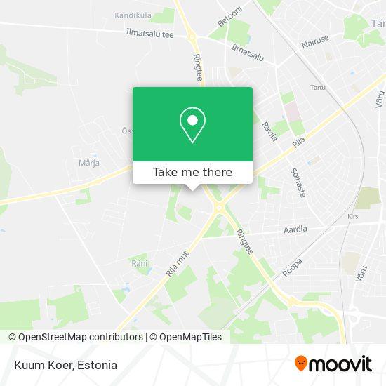 Kuum Koer map