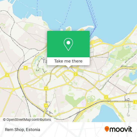Rem Shop map