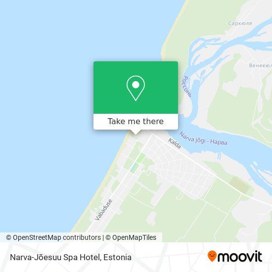 Narva-Jõesuu Spa Hotel map