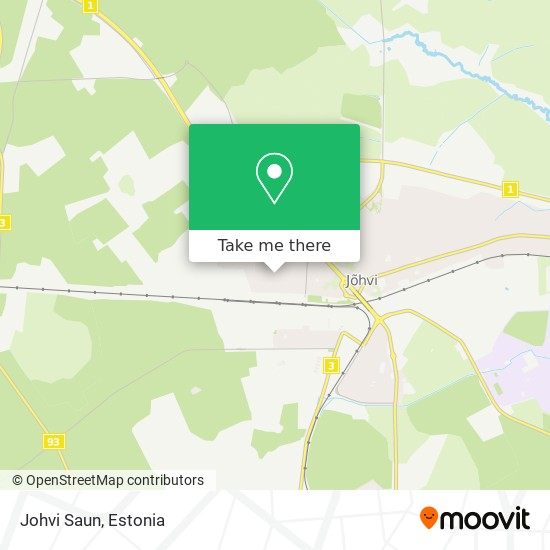 Johvi Saun map