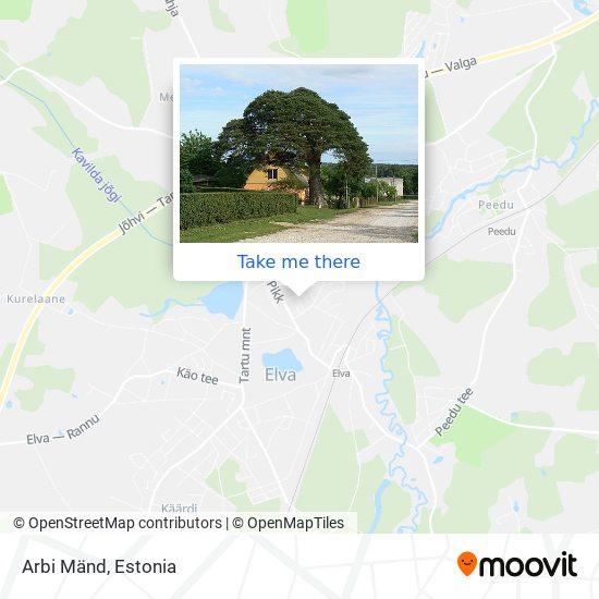 Arbi Mänd map
