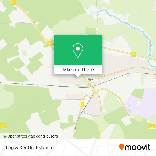 Log & Ker Oü map