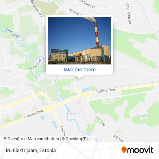 Iru Elektrijaam map
