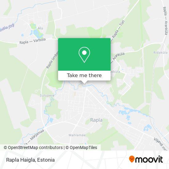 Карта Rapla Haigla