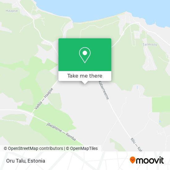 Oru Talu map