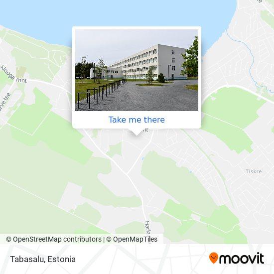 Tabasalu map