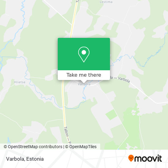 Varbola map