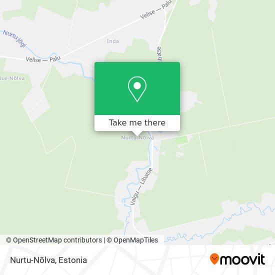 Nurtu-Nõlva map