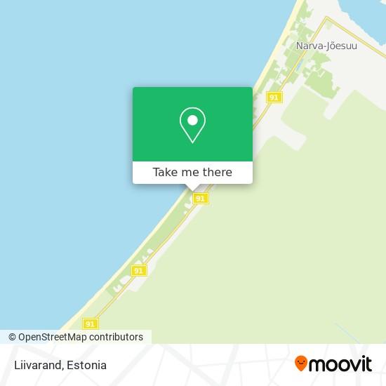 Liivarand map