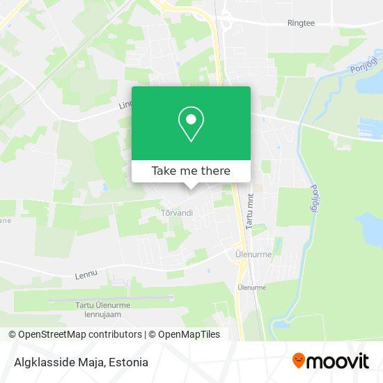 Ülenurme Gümnaasiumi Tõrvandi Algkool map