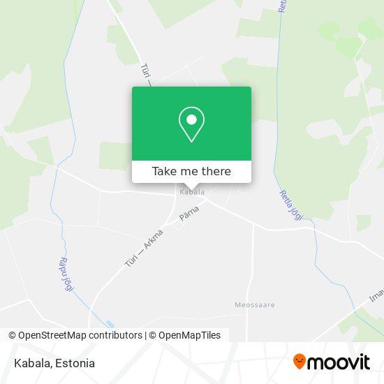 Kabala map