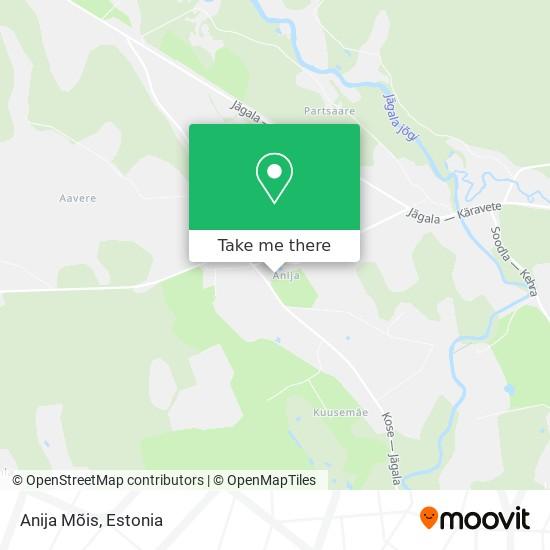Anija Mõis map