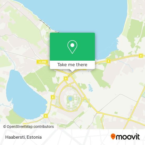 Haabersti map