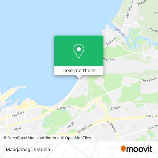 Maarjamägi map