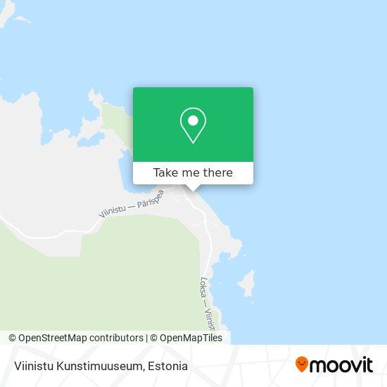 Viinistu Kunstimuuseum map