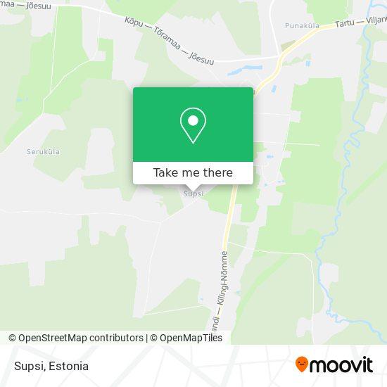 Supsi map