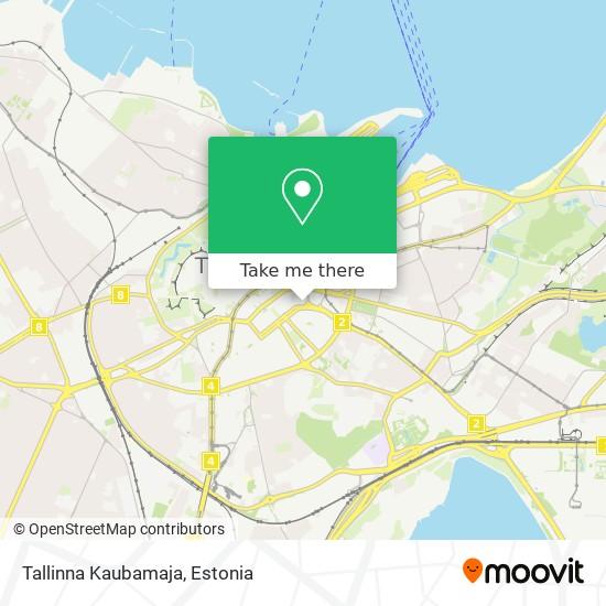 Tallinna Kaubamaja map