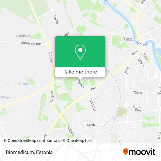Biomedicum map
