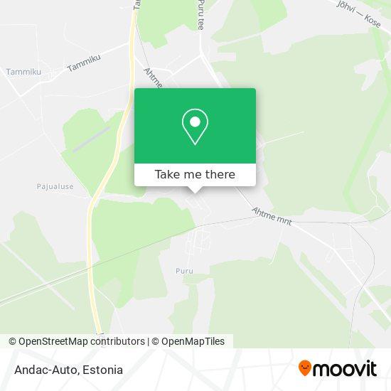 Andac-Auto map