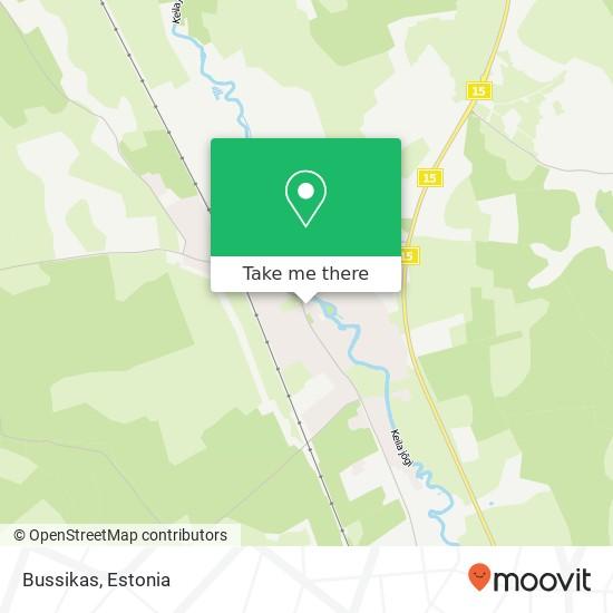 Карта Bussikas