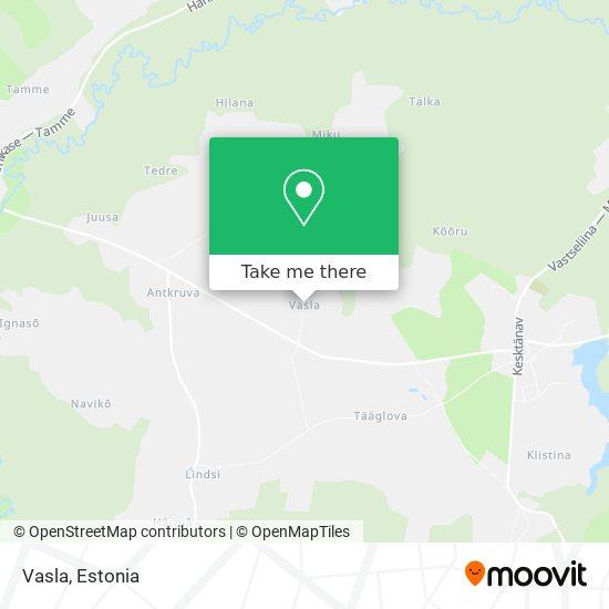 Vasla map